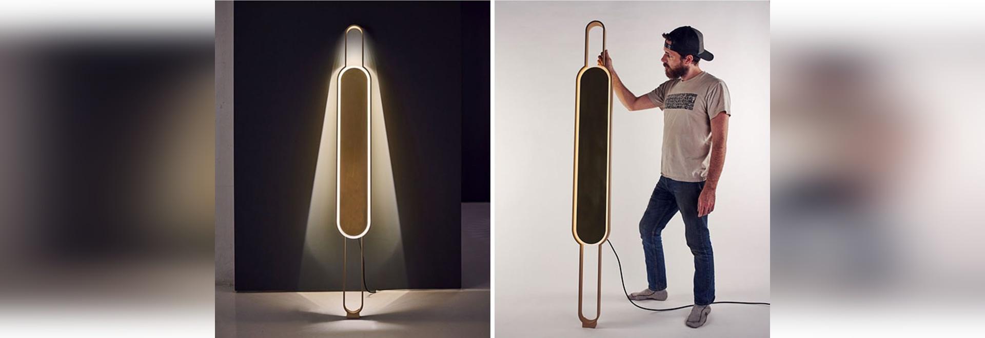 Il portale è una lampada che è nè un riparo nè una luce del pavimento, ma può fungere da entrambi