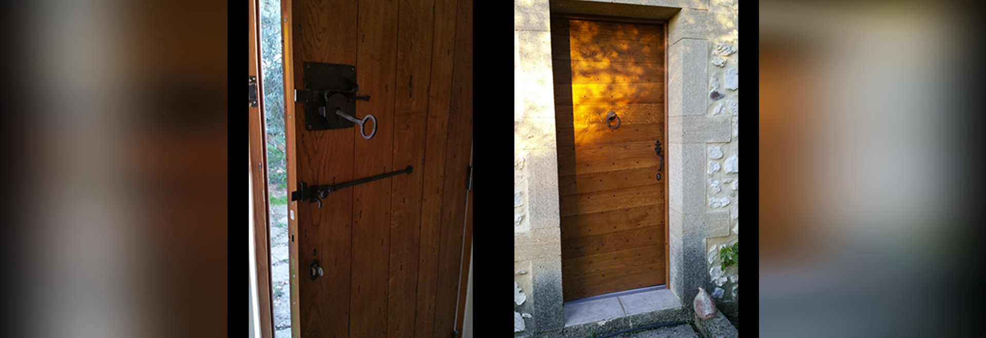 Una semplice porta che ha fascino ...