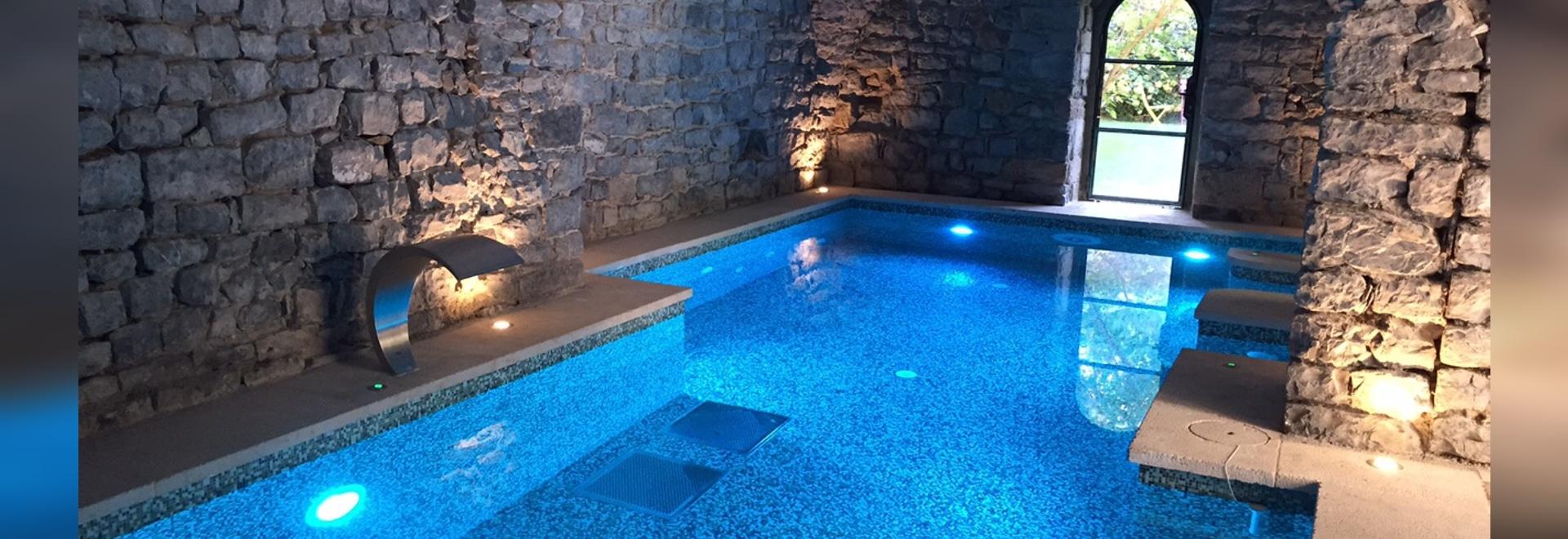 Starlike® di Litokol nella spa del castello di Saint Félix