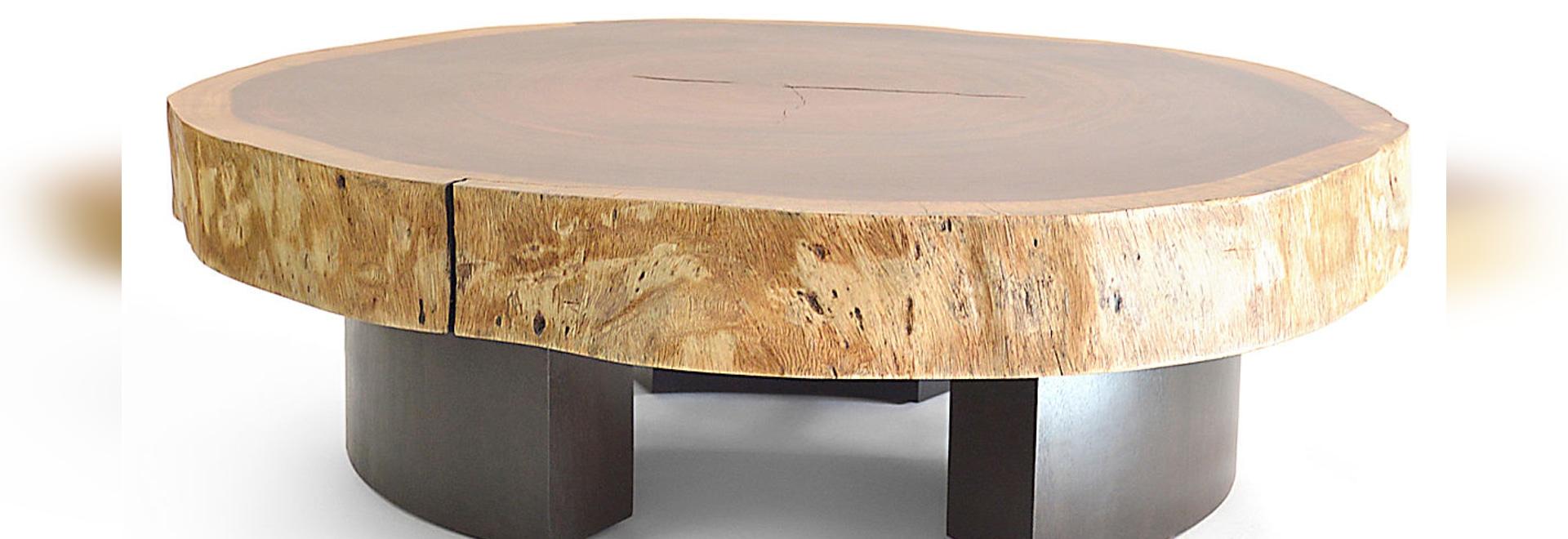 Tavolino da salotto di Tamburil Bolacha - piedini di legno - Rotsen ...