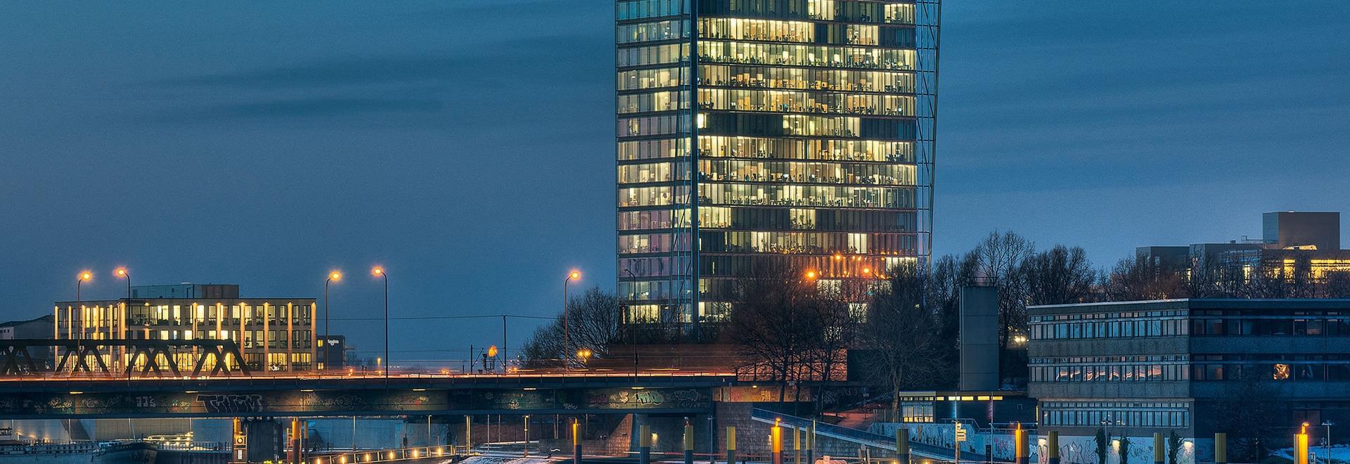 Torre di Weser, Brema, Germania
