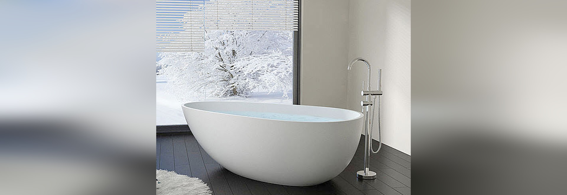 Vasca da bagno indipendente da resina di pietra - Badeloft GmbH