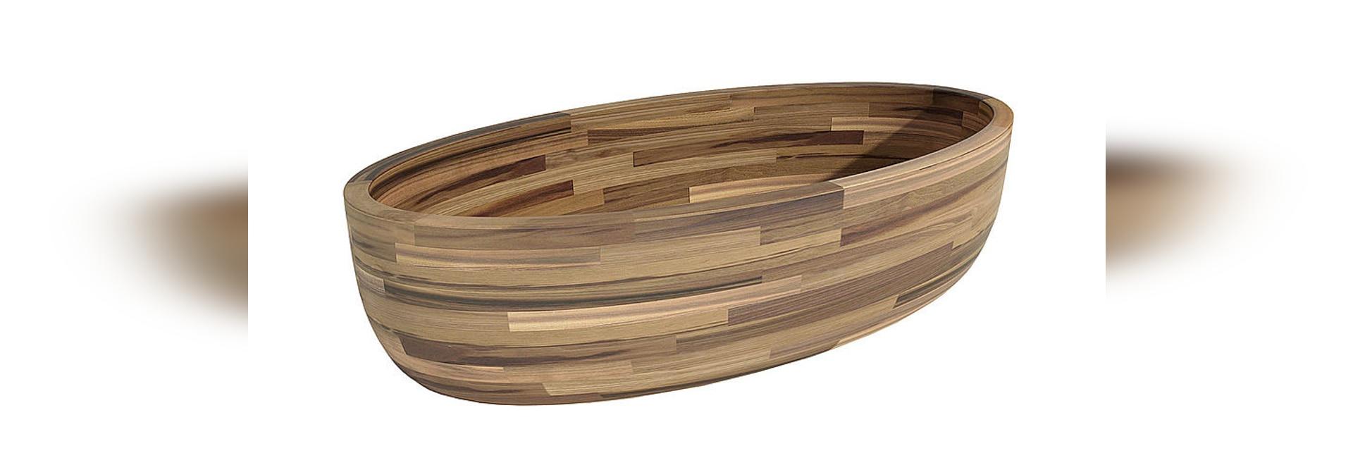 Vasca da bagno di legno Michor - MICHOR
