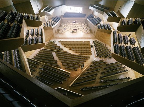 il corridoio della sinfonia accomoda fino a 1.700 ospiti