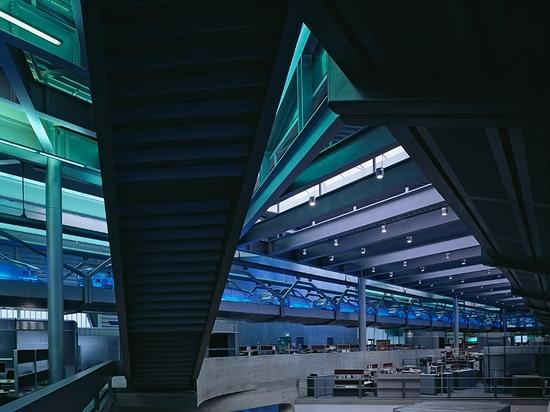 BMW centrale costruzione, Leipzig, il Germania (2005)/immagine dal binet del hélène