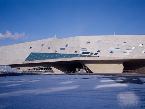 phaeno scienza centro, wolfsburg, il Germania, (2005)/immagine dal huthmacher del werner