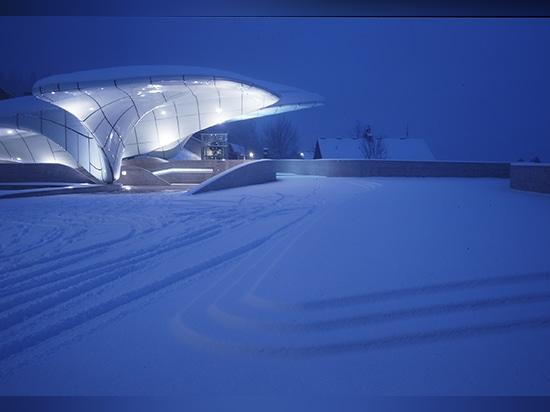 hungerburg stazione, Innsbruck, l'Austria (2007)/immagine dal huthmacher del werner