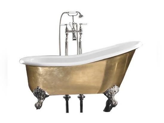 Vasca Da Bagno Piedini : Vasca da bagno in ghisa su piedi kensington by devon devon