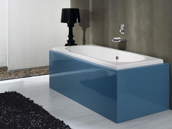 Vasca Da Bagno Rettangolare : Unico giorno vasca da bagno by rexa design