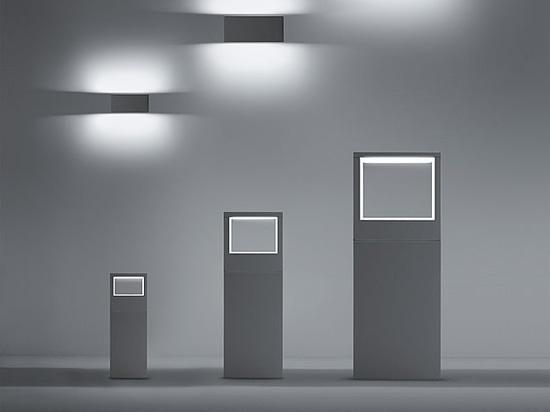 Cool e cool quadrato l essenza del led per applique o paletto