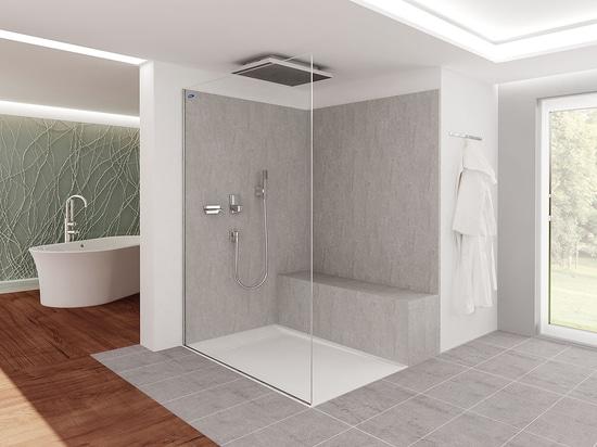 Dimensioni Interne Vasca Da Bagno : NovitÀ vasca da bagno doccia da incasso by duscholux ag