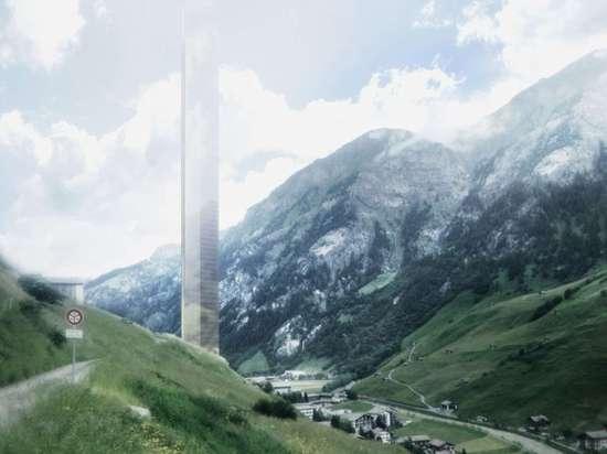"""Il Morphosis rivela i programmi per il grattacielo """"minimalista"""" vicino a Therme Vals dello Zumthor"""