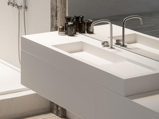 Il ® di Piet Boon progetta la nuova raccolta del bagno per il BOZZOLO olandese di Brand del progettista
