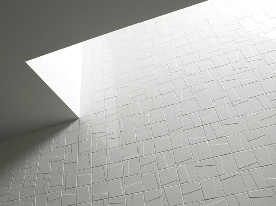 Mattonelle della parete dei murali di Mosa