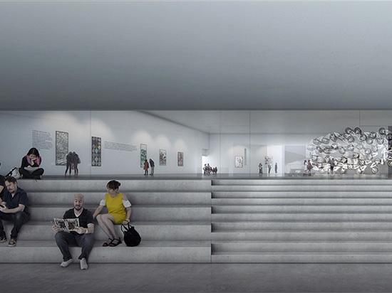 turrell di james + martello lassen di Schmidt rivelare la loro progettazione per l'estensione del museo di ARoS Aarhus
