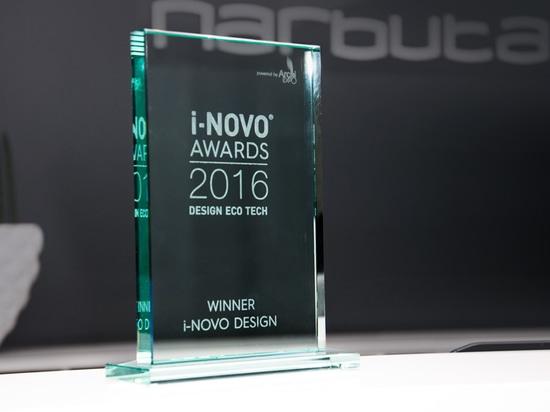 VINCITORE del PREMIO 2016 di PROGETTAZIONE di I-NOVO