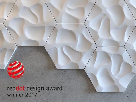 Premi tripli per i prodotti di NMC a Dot Award rosso: Progettazione 2017