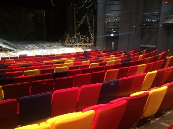 Per la seconda volta, Quinette Gallay contribuisce al rinnovamento del teatro «la casetta per giocare Oxford», teatro emblematico dell'Inghilterra