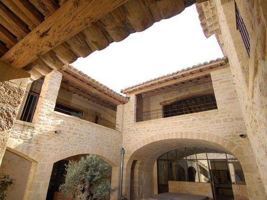 Vista generale delle pareti esterne