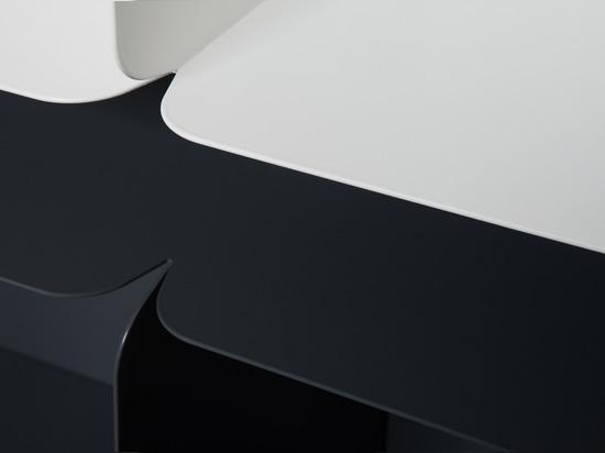 Dettaglio dei bordi caratteristici della raccolta del collare