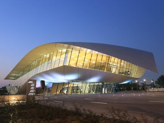 progetto del liniLED® - museo di Etihad