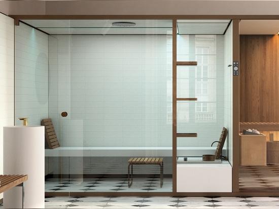 Suite spa con sauna bagno turco e doccia emozionale foto di