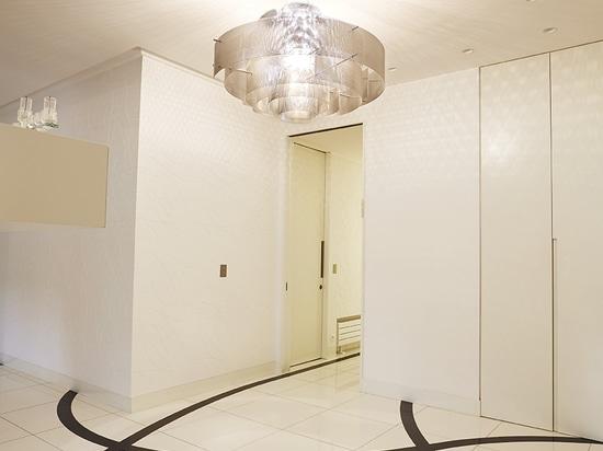 Progetto in un piano privato a Parigi