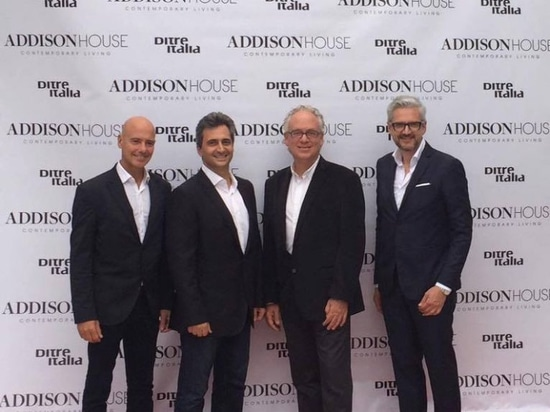 DITRE ITALIA PROTAGONISTA ALL'INAUGURAZIONE DEL MIAMI ADDISON HOUSE NEL PRESTIGIOSO MIAMI DESIGN DISTRICT