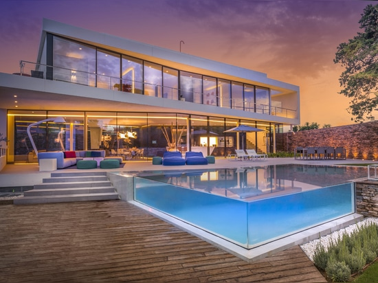 Cool Blue Villa