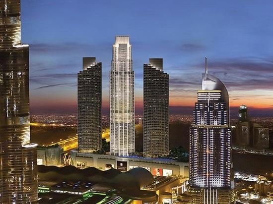 Viste della fontana – Emirati Arabi Uniti