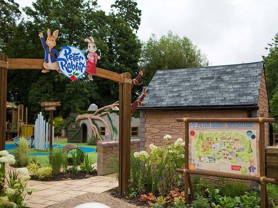 Peter Rabbit arriva ad un secondo parco a tema nel Regno Unito