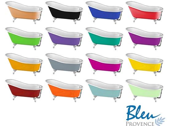Vasche da bagno in ghisa: osate il colore, osate il retro'' chic!