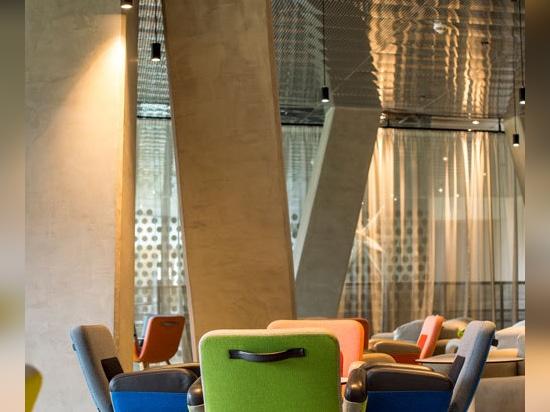 Architettura emozionante per una festa rilassata