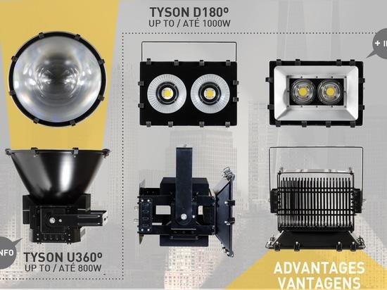 Brilumen presenta il TYSON innovatore