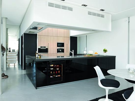 NUOVI gabinetti del vino > knowhow di EuroCave nella cucina