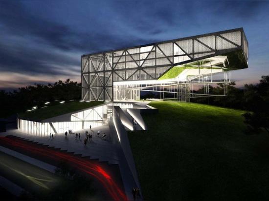 MUSEU DA TOLERÂNCIA da Frentes Arquitetos. Struttura da YCON Engenharia.