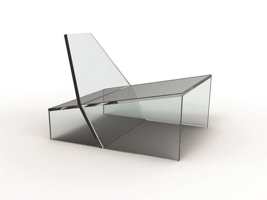 Sedia di ronzio da Zanine per vetro 11