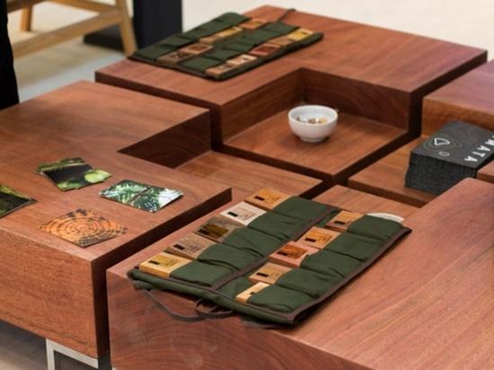 La tavola concentrare nella nuova raccolta di Amata.