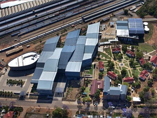 Maglia metallica come coperture espressive per l'autorità nazionale di statistiche nel Sudafrica