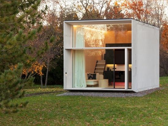 La casa concreta mobile Koda. Cortesia di Kodasema. Foto da Paul Kuimet.