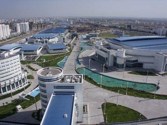 Asgabat nel Turkmenistan – città delle annotazioni olimpiche