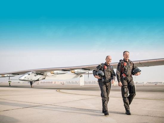 Cortesia del Solar Impulse