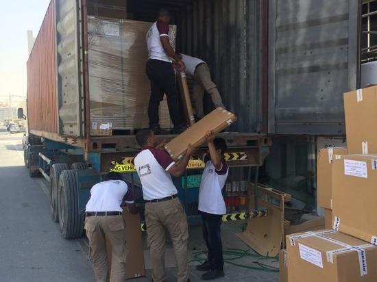 Consegnato 105 mini cucine alla costruzione di residenza di Shamal nel Dubai