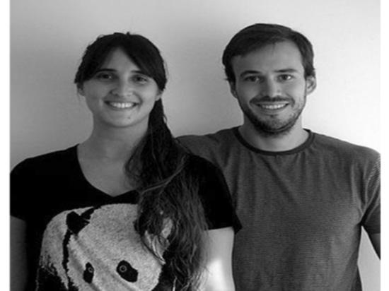 Coppie Andrea Kac e Herman Schenck, fondatori del progettista dello studio di Ambueblate