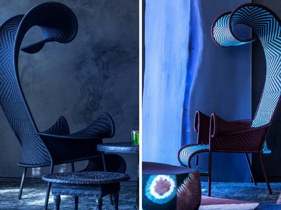 La sedia oscura dalla raccolta del M'Afrique di Moroso