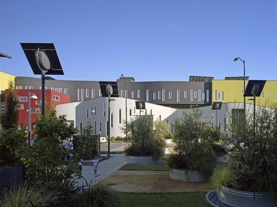 Un programma di costruzione di alloggi di David Baker Architects
