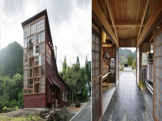Osteria di Kamikatz. Cortesia di NAP Architects.