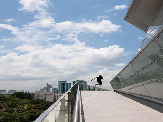The Star a Singapore ha progettato da Andrew Bromberg. Cortesia di Andrew Bromberg a Aedas.