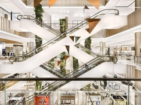 Centro commerciale di Robinsons. Cortesia degli architetti di HMKM