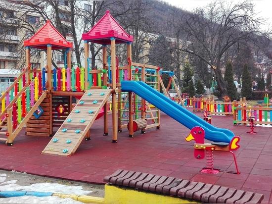 Progetto del campo da giuoco (Bulgaria)